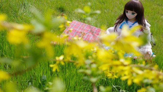エンジェリックドール奈々と今年(多分)最後の春の花めぐり