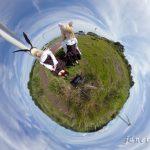 RICOH THETAで風車の見える丘をより開放的に