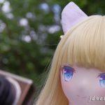 エリーちゃんの初紫陽花(2)