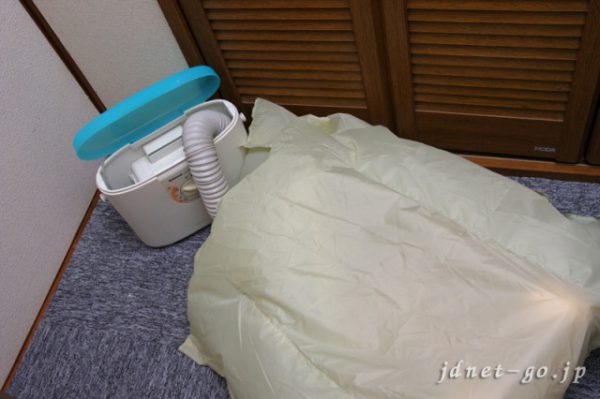 布団乾燥機を使ってぬいぐるみドールを除湿してみました