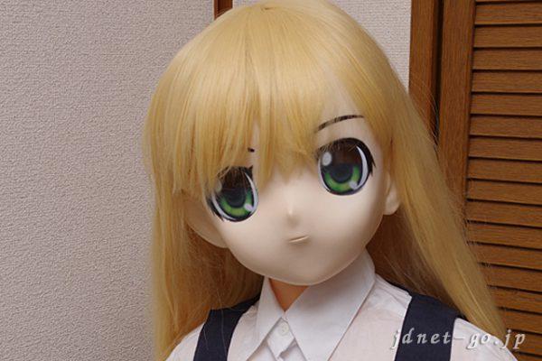 木偶の坊「夏音」をむにむに製作所のアニメ顔に換装