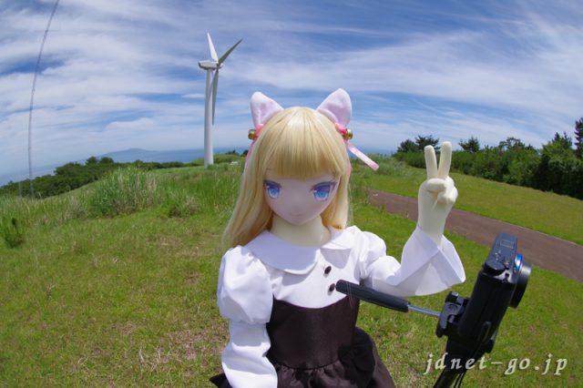 エリーちゃんと風車のある丘へ